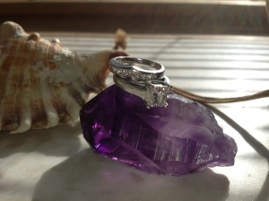 My Wedding Set on Amethyst