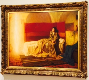 """The Annunciation"" by Henry Ossawa Tanner (1859-1937)"