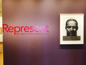 Represent: 200 Years of African American Art now showing at the Philadelphia Museum of Art now until April 5, 2015.