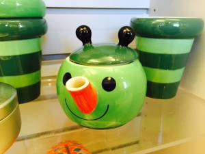 Loving this teapot in the museum store. To cute!! #kawaii